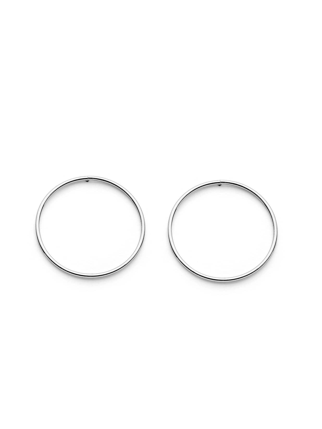 Фото Minimalist Hoop Earrings. Купить с доставкой