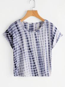 T-Shirt mit Wasserfarbe