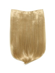 Golden Blonde Clip In Straight Hair Extension