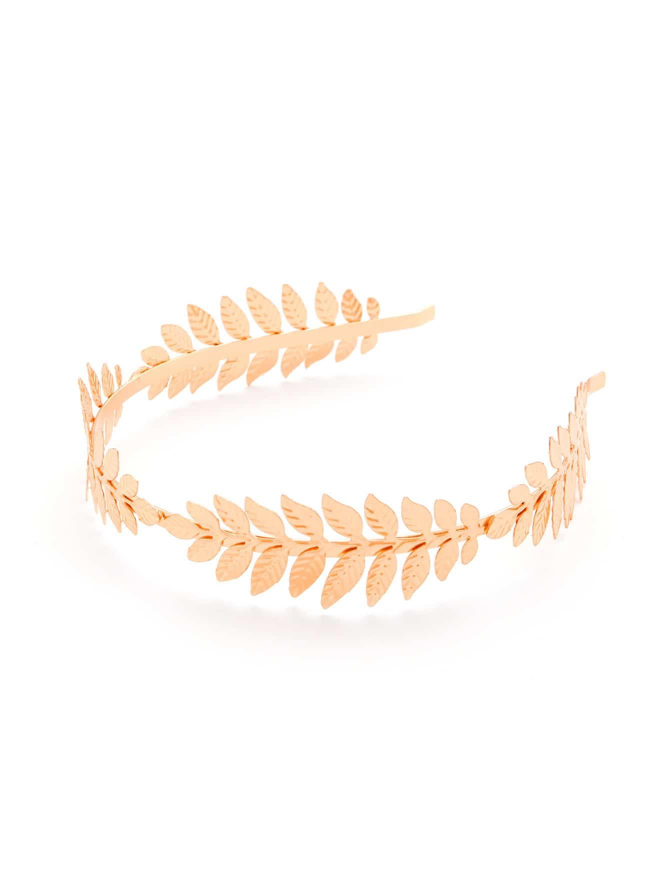 Фото Leaf Embellished Headband. Купить с доставкой