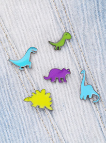 Animal Design Cute Brooch Set