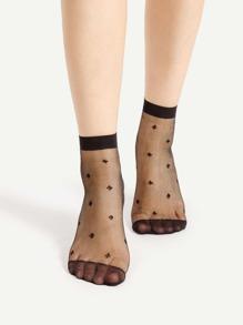 Socquettes à cheville à maille 2 paires