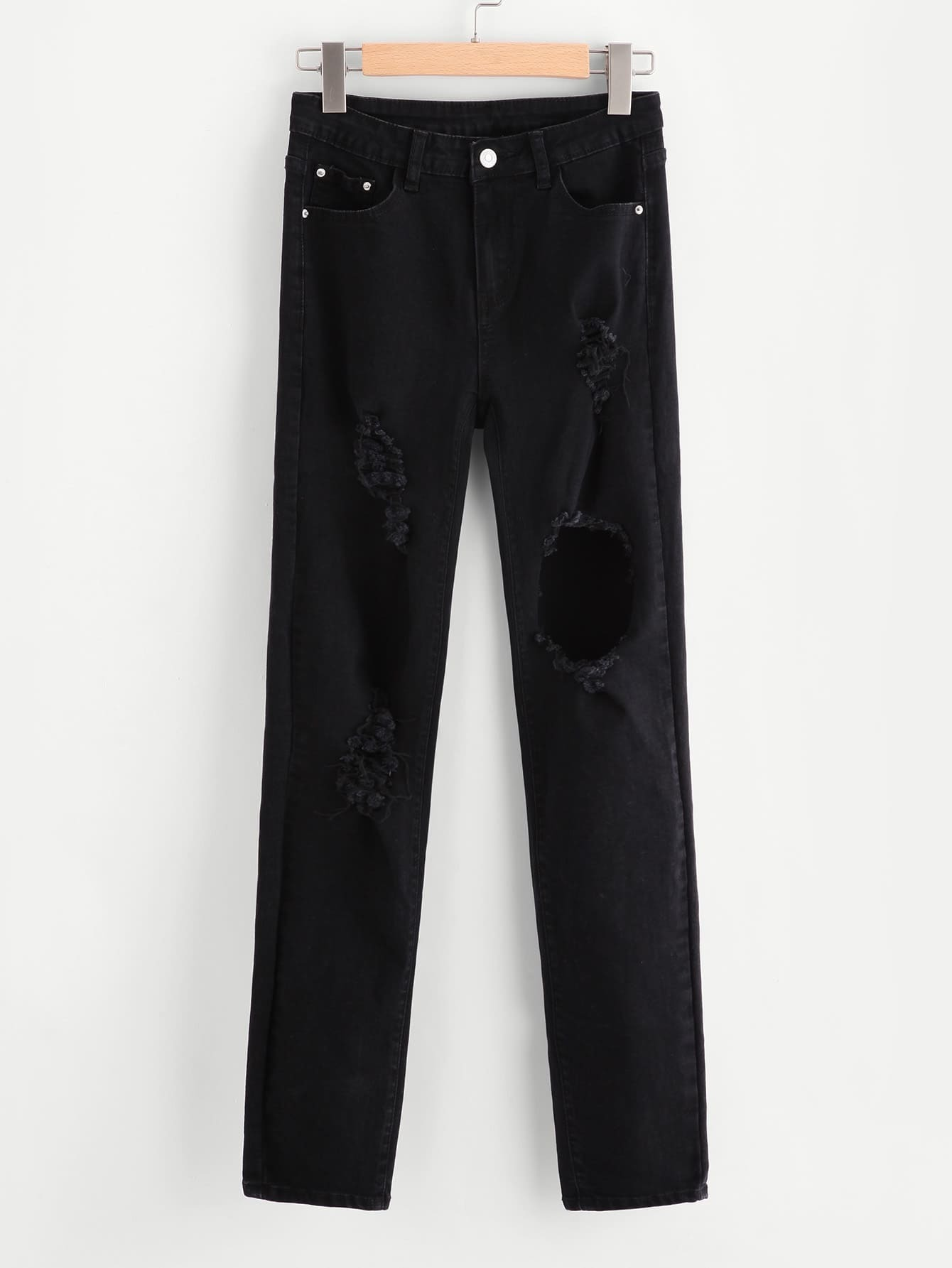 Фото 5 Pocket Shredded Jeans. Купить с доставкой