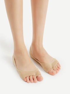 Open Toe Invisible Socks