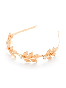Leaf Shaped Headband