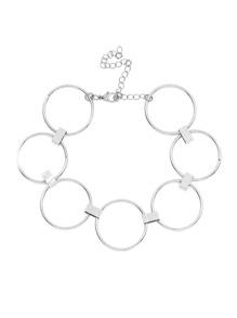 Metal Ring Design Choker