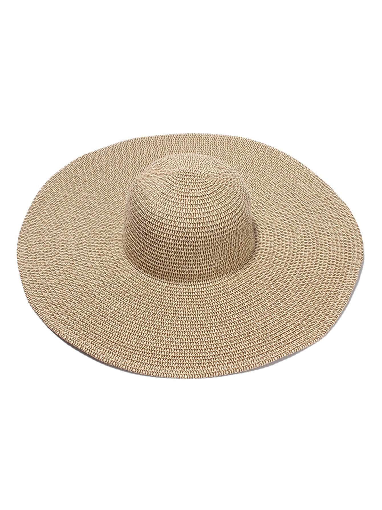 chapeau de paille souple norme french romwe. Black Bedroom Furniture Sets. Home Design Ideas