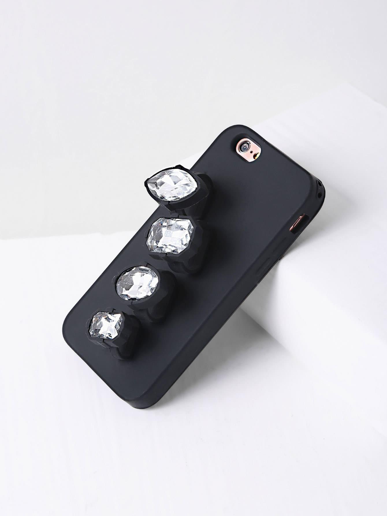 Фото Rhinestone Finger Ring iPhone Case. Купить с доставкой