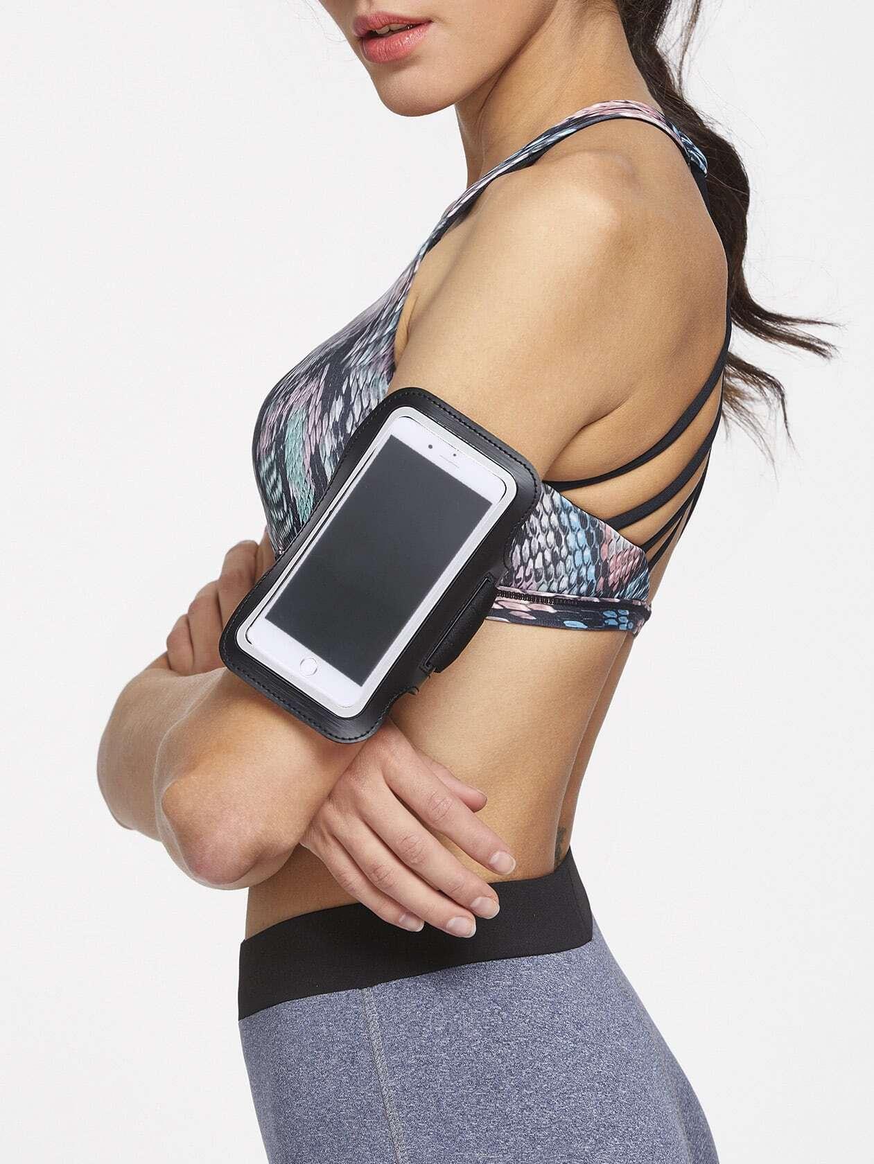 Black 5.Mobile Phone Arm Belt