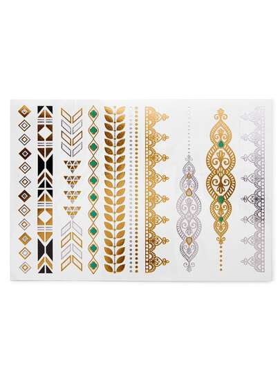 Ensemble d\'autocollants design multi-forme