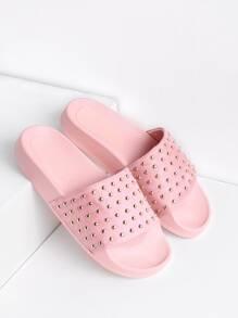 Studded Slip On Sandals
