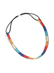 Color Block Hair Band