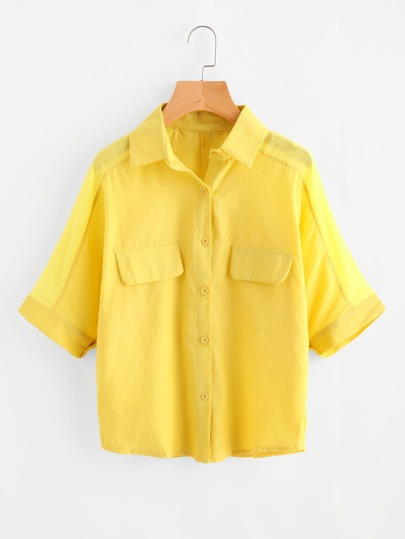 Fake Pocket Shirt
