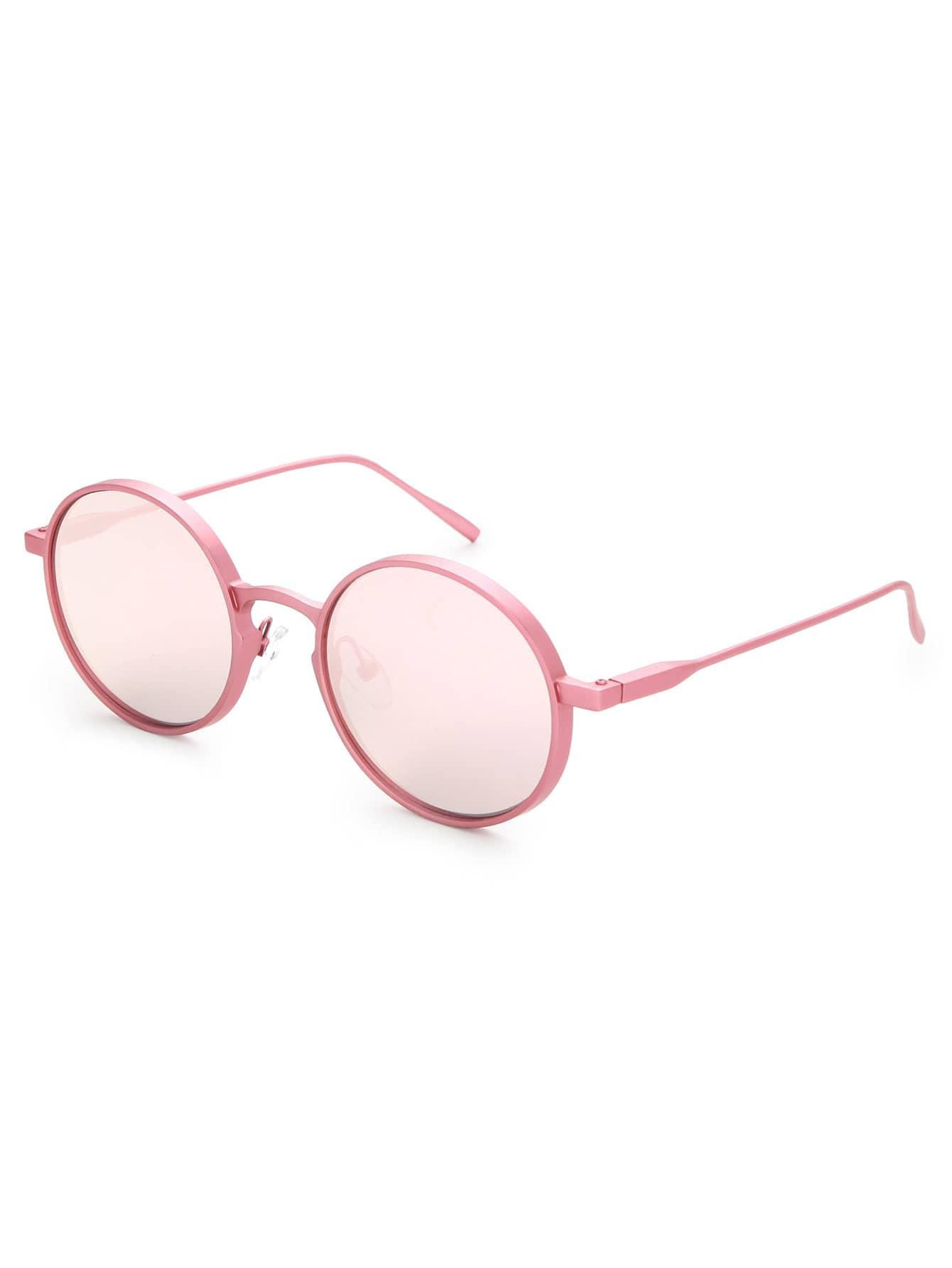 Фото Mirror Lens Round Sunglasses. Купить с доставкой