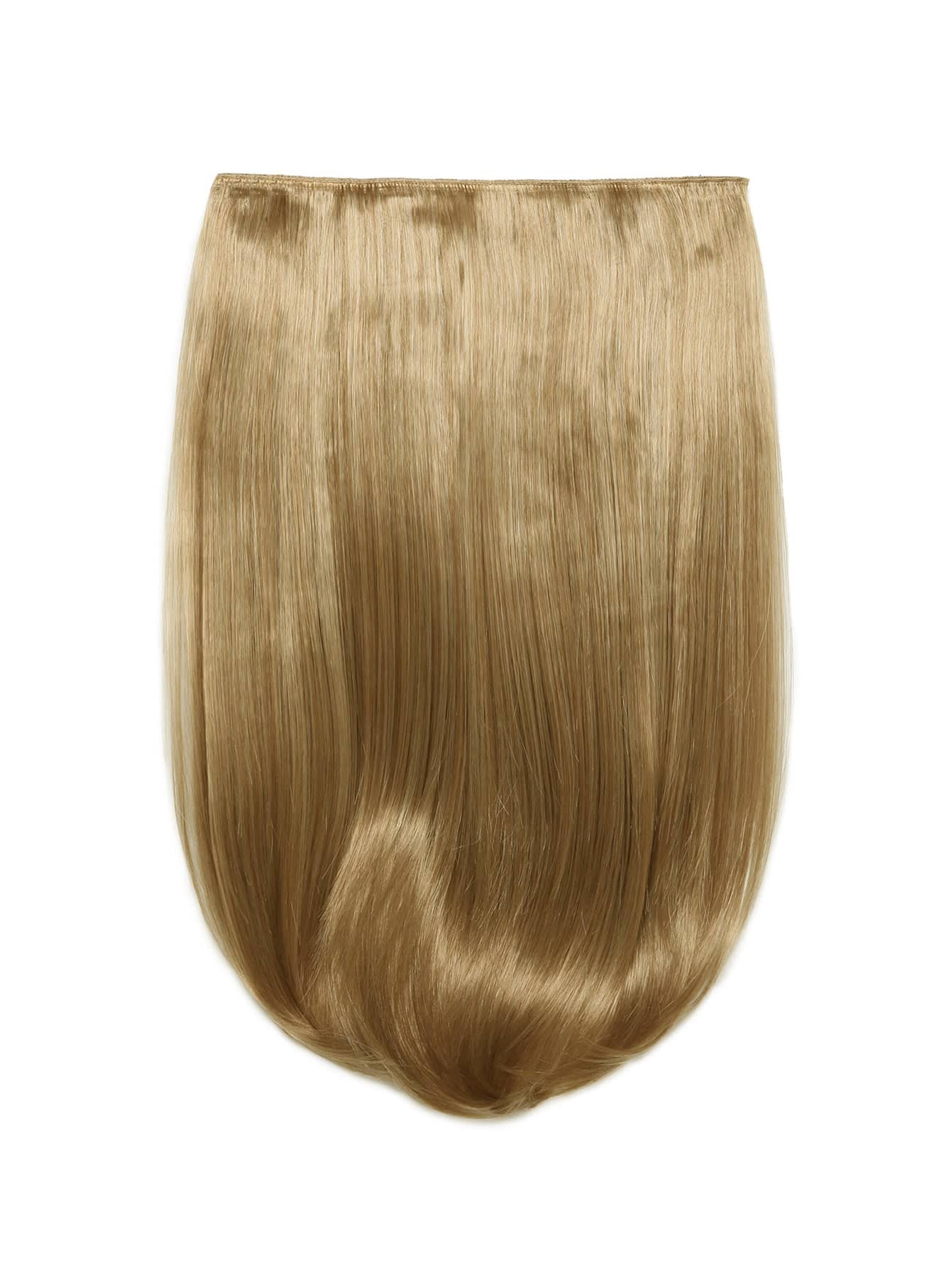 Honey Blonde Clip In Straight Hair Extension