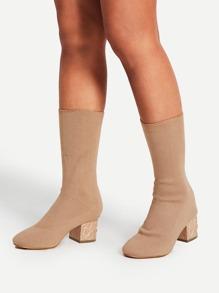 Stivali con tacco