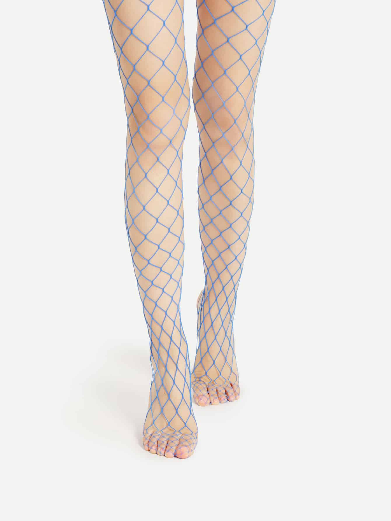 Hollow Out Fishnet Tights