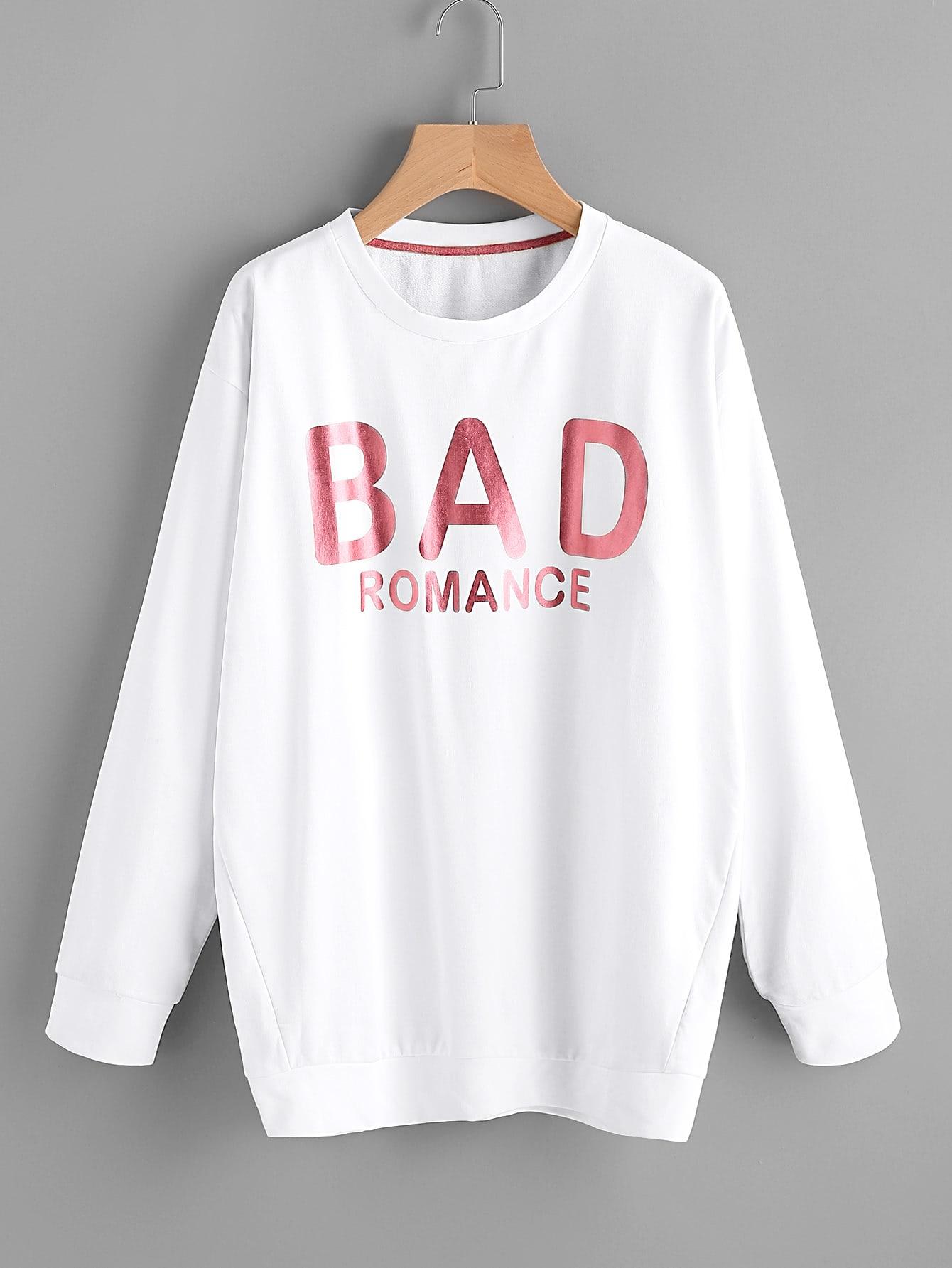 Bad Romance Longline Sweatshirt sweatshirt170718450