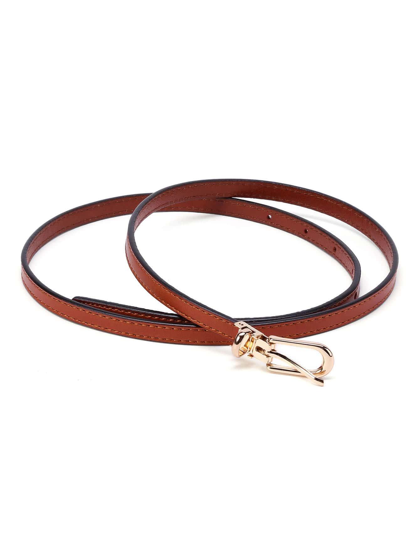 Фото Skinny Buckle Belt. Купить с доставкой