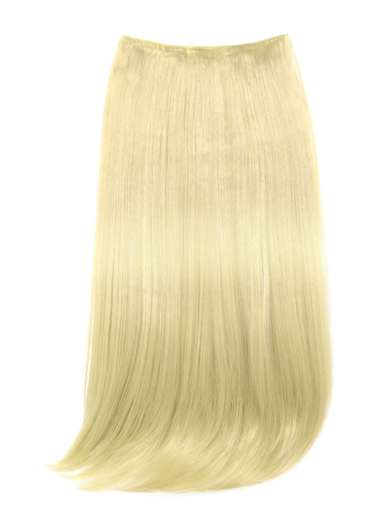 Купить со скидкой Straight Hair Weft With Clip