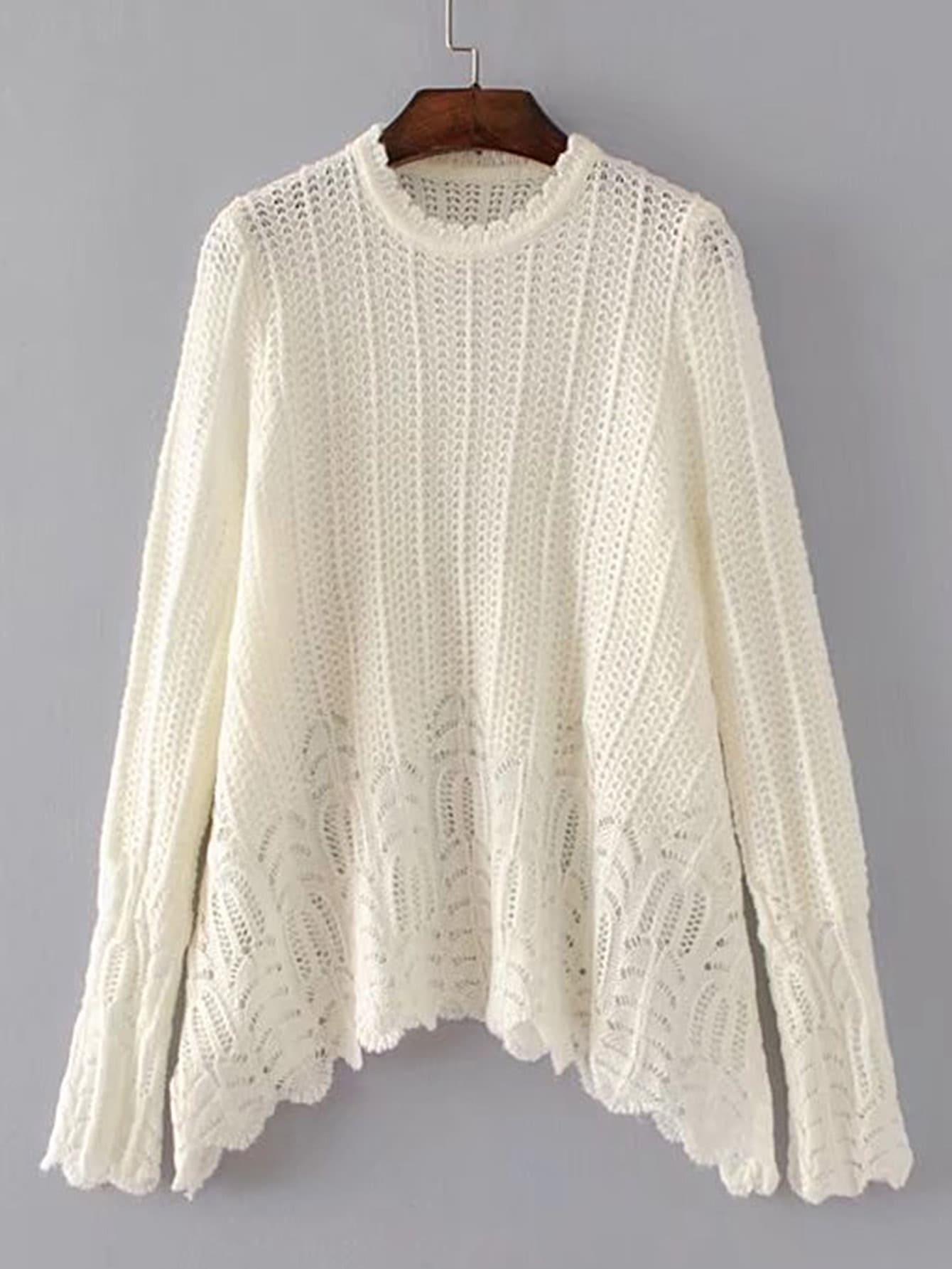 Фото Hanky Hem Loose Sweater. Купить с доставкой