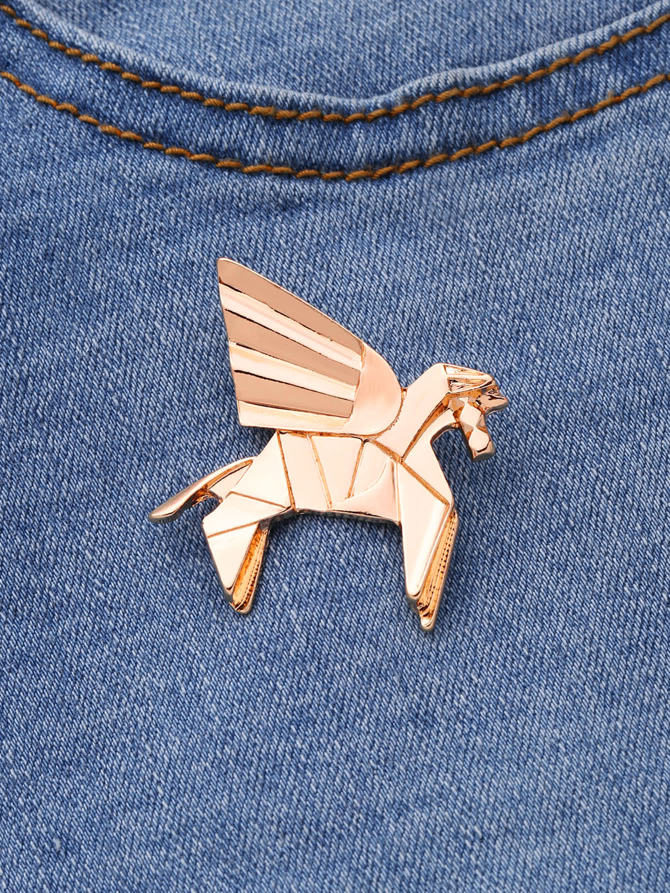 Horse Shaped Cute Brooch