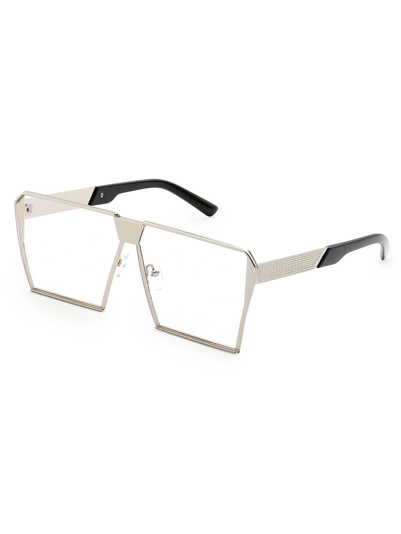 Фото Square Lens Oversized Glasses. Купить с доставкой