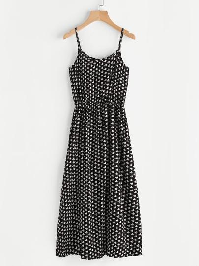 Endless Print Cami Dress
