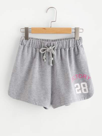 Strick Sweat Shorts
