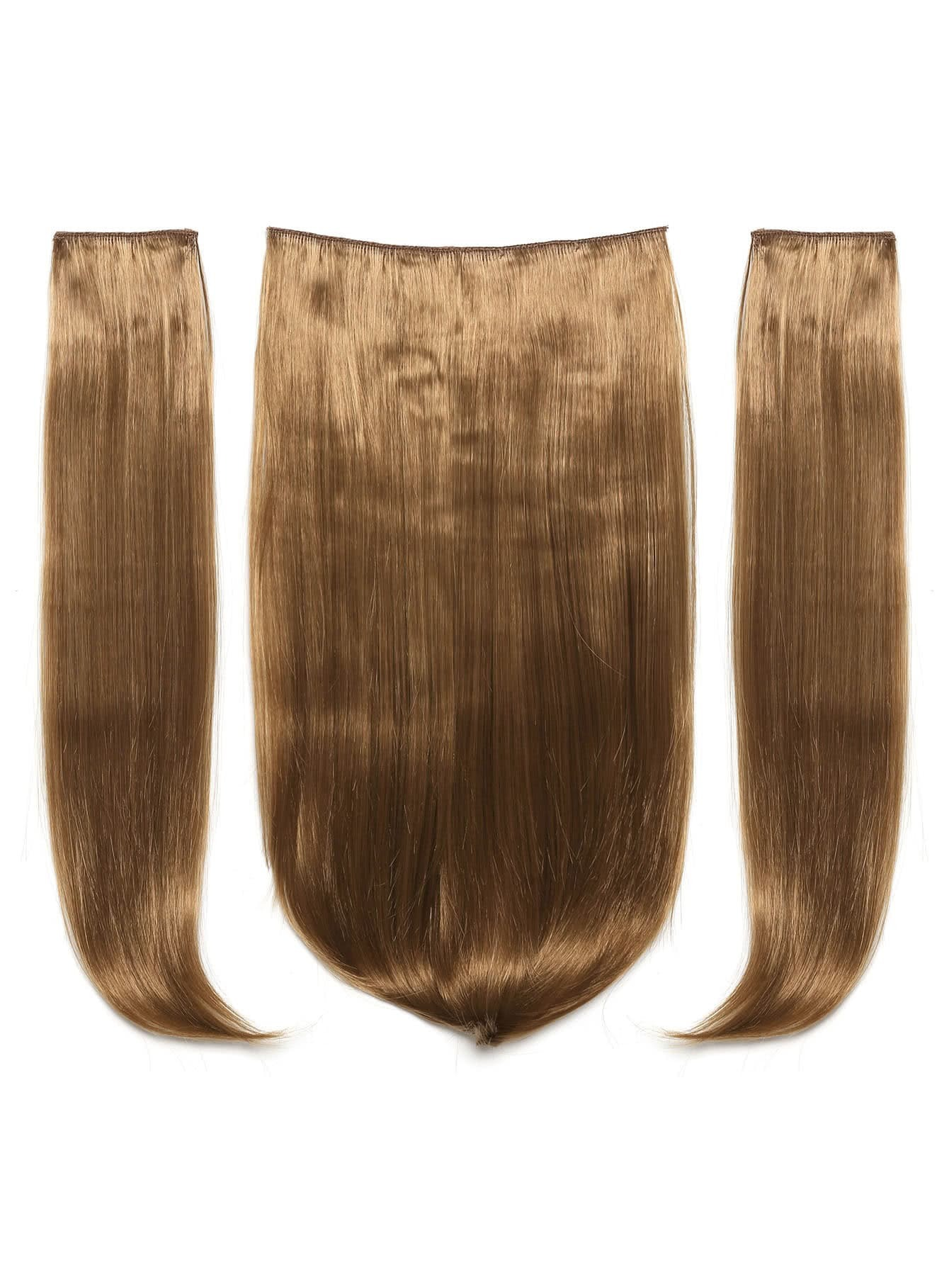Mix Auburn Clip In Haarverlängerungen 3pcs