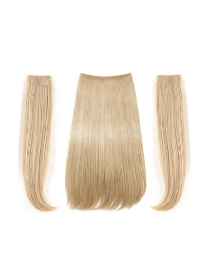 Clip In Straight Hair Weft 3pcs