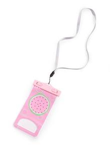 Sac de téléphone imperméable à l\'eau imprimé des melons de l\'eau