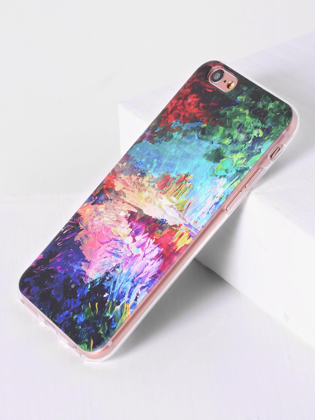 Фото Watercolor Pattern iPhone Case. Купить с доставкой