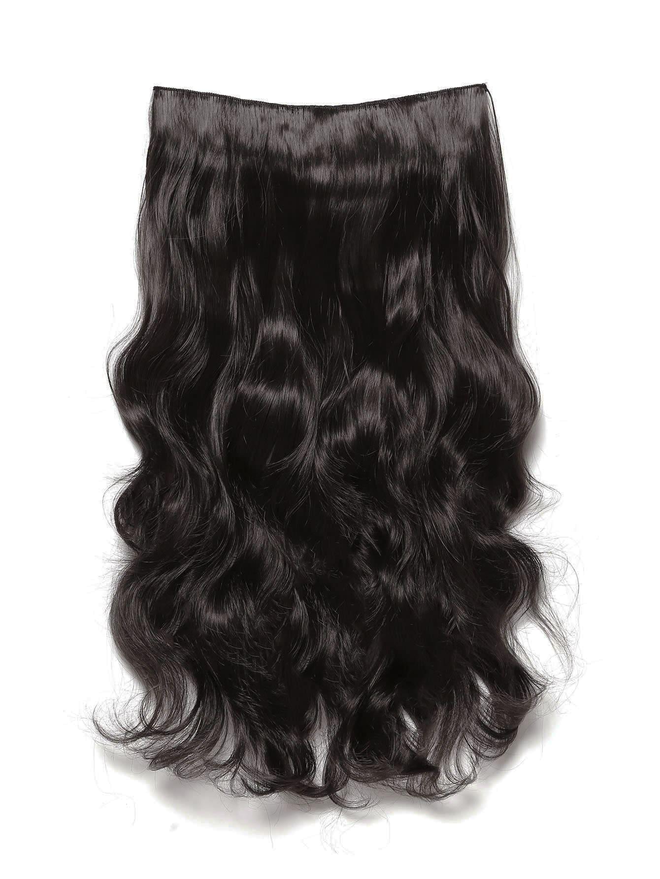 Фото Dark Brown Clip In Soft Wave Hair Extension. Купить с доставкой