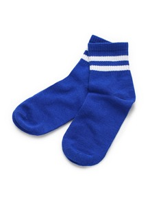Double Striped Ankle Socks