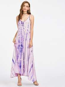Tie Dye Tent Cami Dress