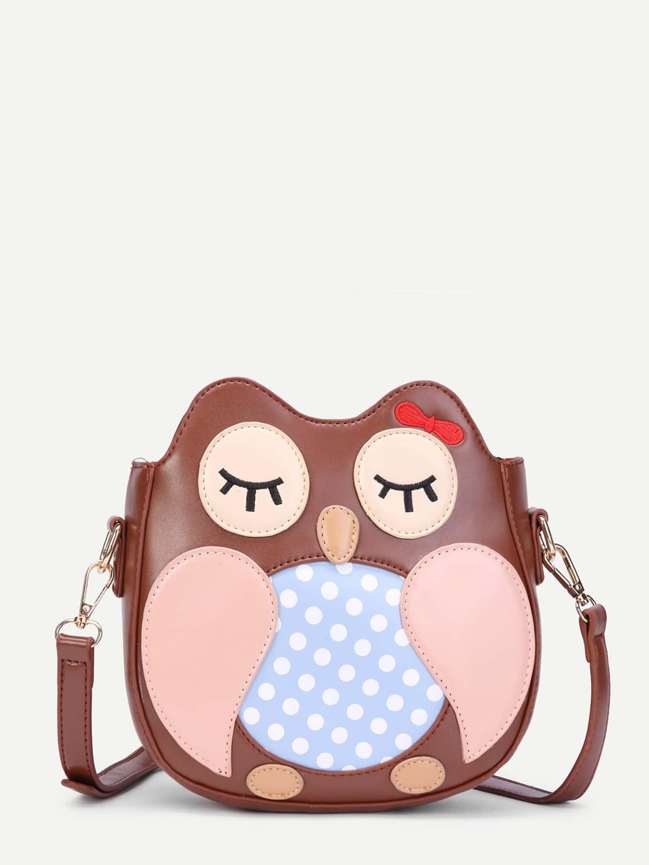 Фото Cartoon Pattern Ear Design PU Shoulder Bag. Купить с доставкой