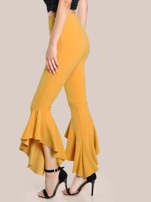 سروال أزياء طويل لنساء