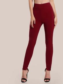 Pantalons maigre taille élastique