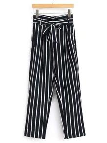 Pantaloni a strisce verticale