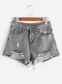 Pantaloncini in denim di Fray Herman