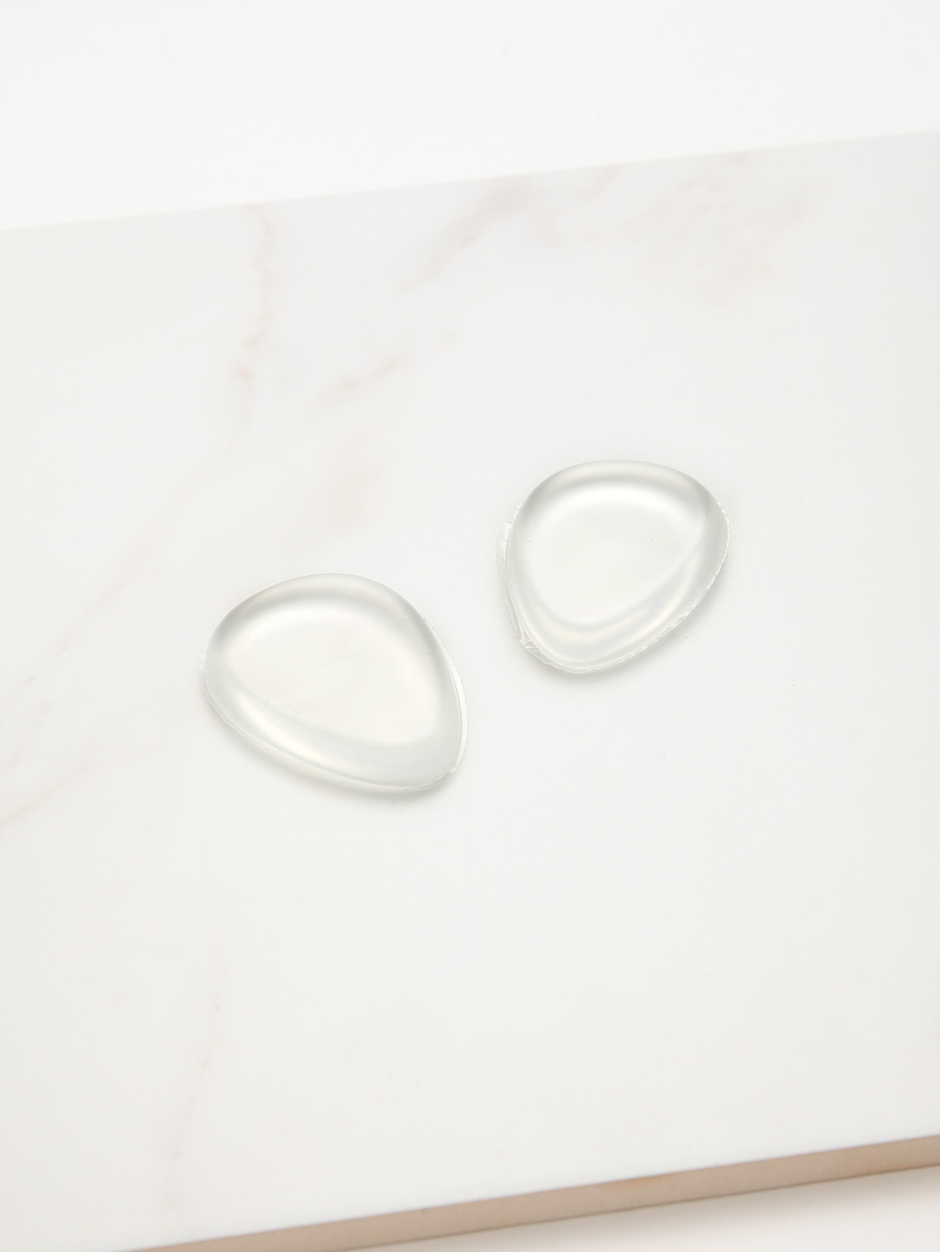 Silicone Gel Transparent Makeup Puff 2pcs