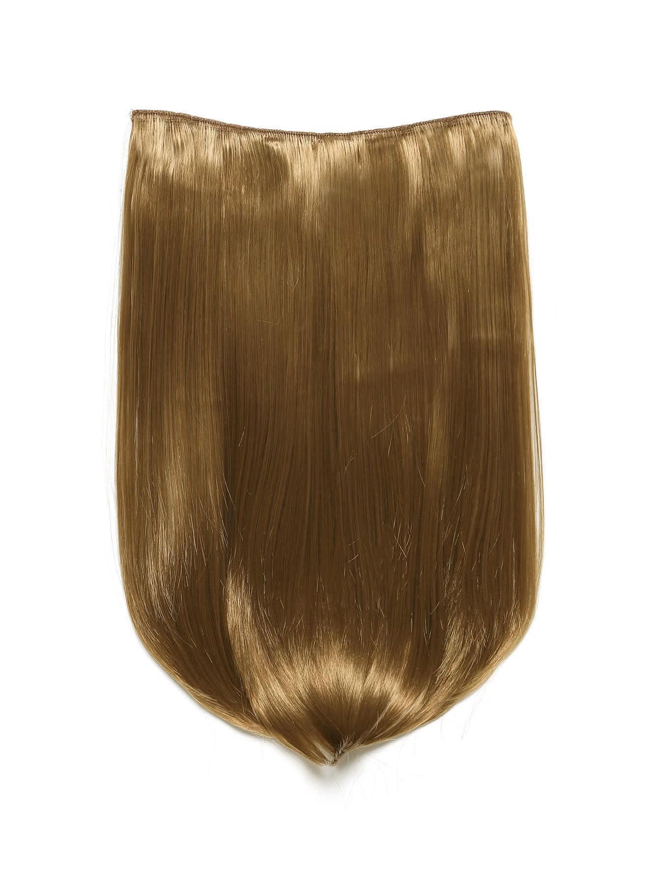 Mix Auburn Clip In Haarverlängerungen mit glattem Haar