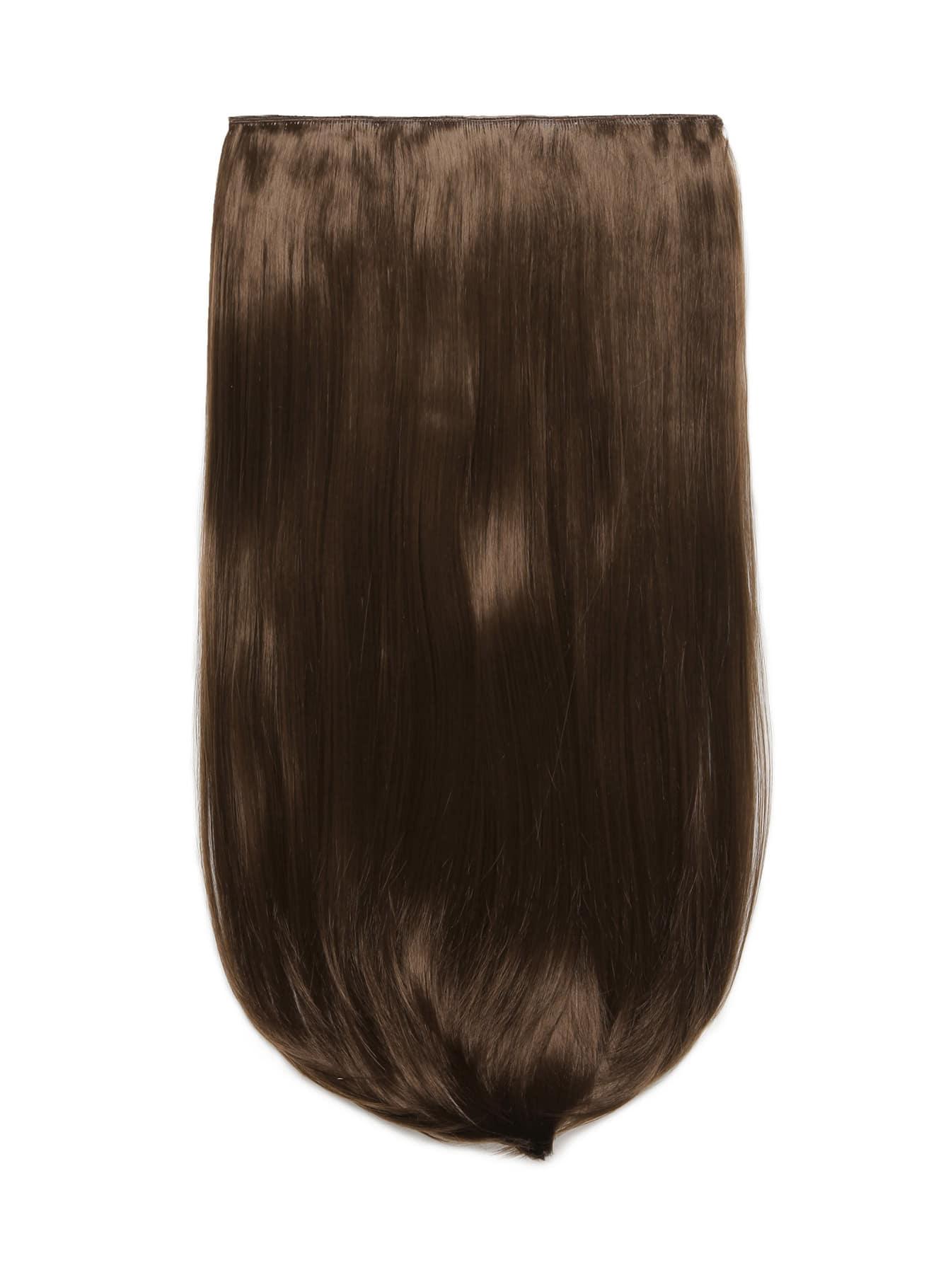Фото Chestnut Clip In Straight Long Hair Extension. Купить с доставкой