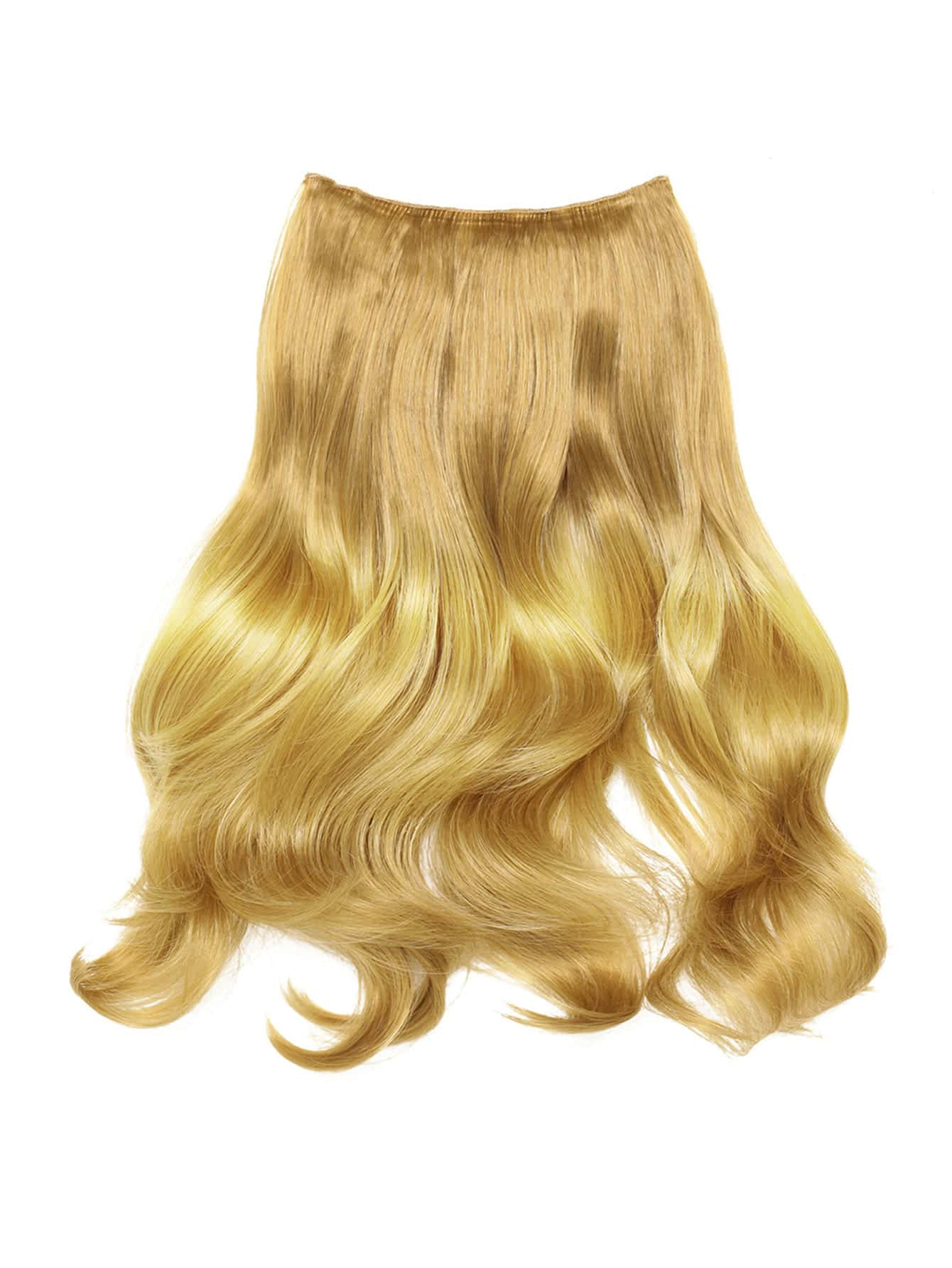 Soft Wave Hair Weft With Clip lovely soft germination clip to candy fruit a word clip children s hair accessories