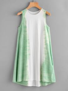 Ombre Swing Tank Dress