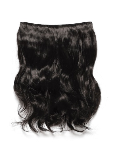 Dark Brown Clip In Soft Wave Hair Extension