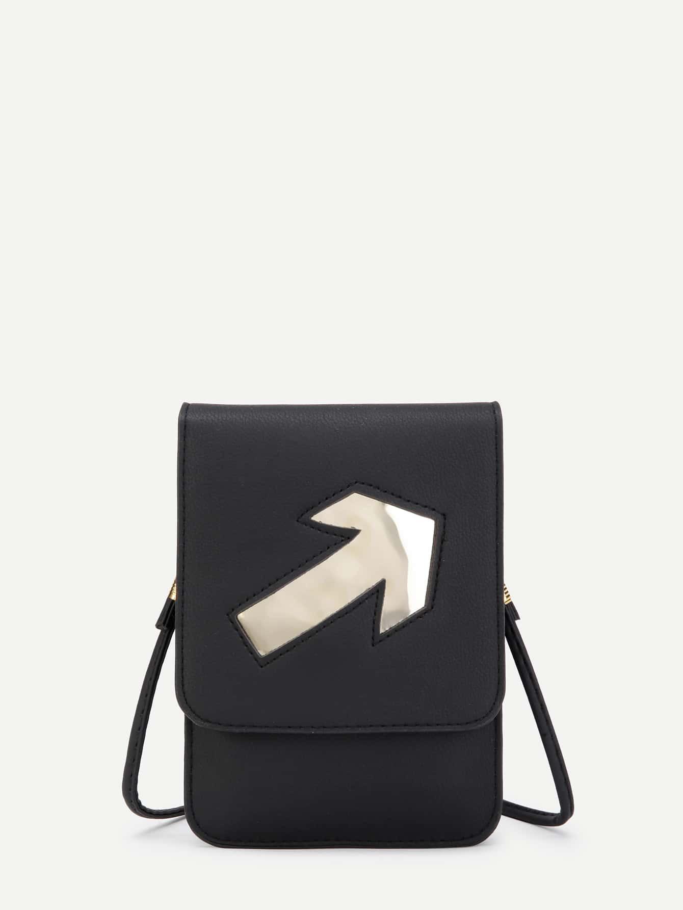 Фото Arrow Pattern PU Pouch Bag. Купить с доставкой