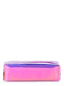 Iridescent Pencil Case With Tassel