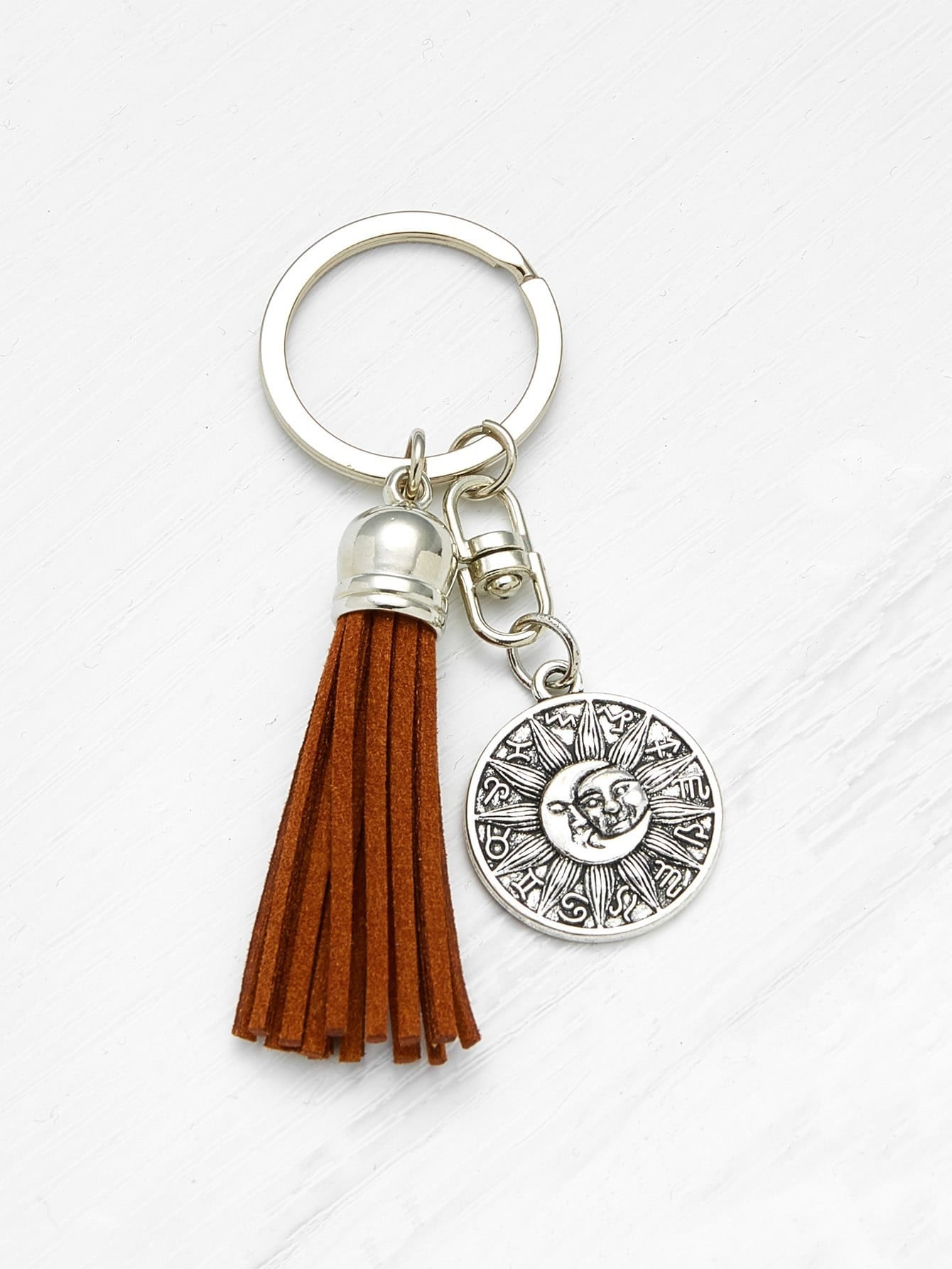 Tassel Decorated Keychain